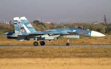 80 RED - Russia - Navy Sukhoi Su-33