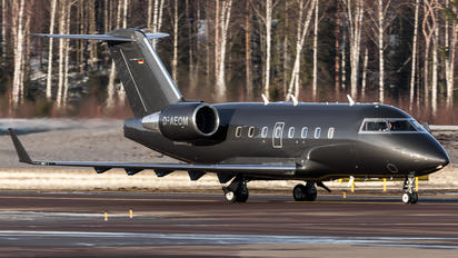D-AEOM - MHS Aviation Bombardier CL-600-2B16 Challenger 604
