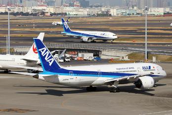 JA834A - ANA - All Nippon Airways Boeing 787-8 Dreamliner