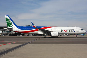 T7-ME4 - MEA - Middle East Airlines Airbus A321 NEO