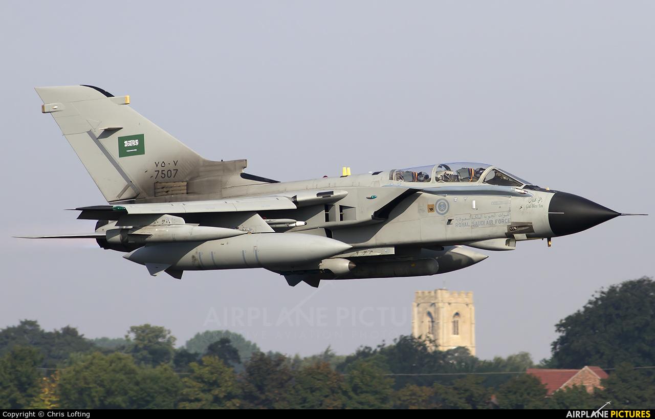Saudi Arabia - Air Force 7507 aircraft at Coningsby