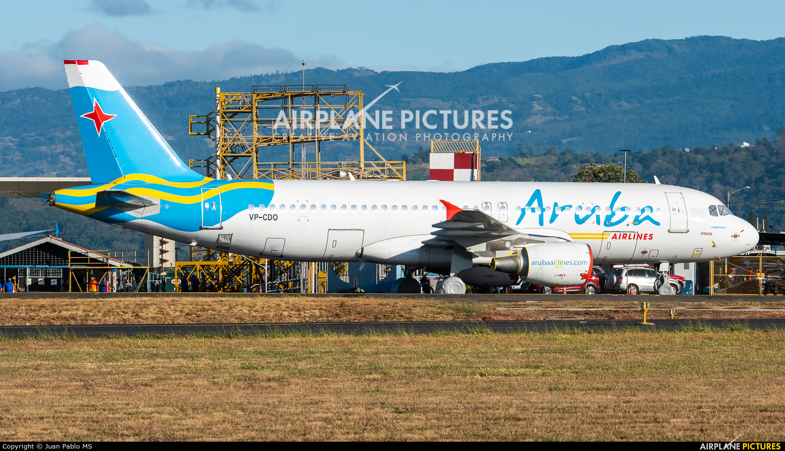 Aruba Airlines VP-CDO aircraft at San Jose - Juan Santamaría Intl