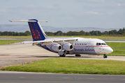 OO-DJZ - Brussels Airlines British Aerospace BAe 146-200/Avro RJ85 aircraft