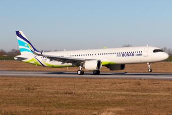 D-AYAO - Air Busan Airbus A321 NEO