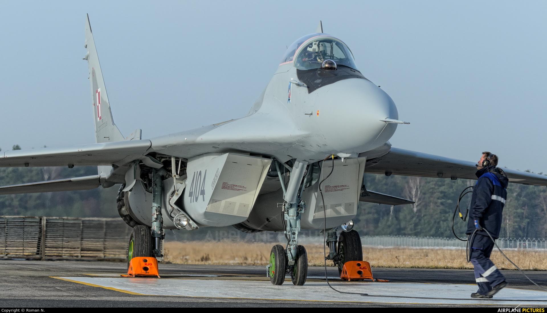 Poland - Air Force 4104 aircraft at Bydgoszcz - Szwederowo