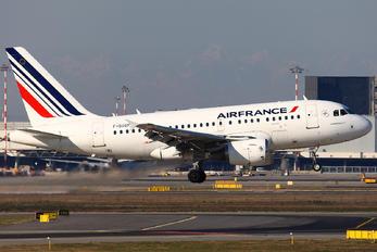 F-GUGF - Air France Airbus A318