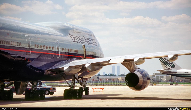 British Airways G-BNLC aircraft at New York - John F. Kennedy Intl