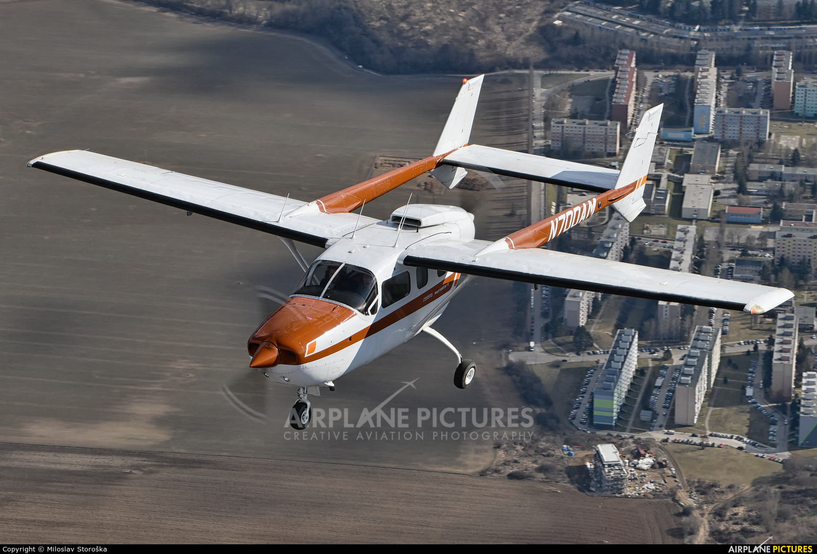 Private N700AM aircraft at In Flight - Slovakia