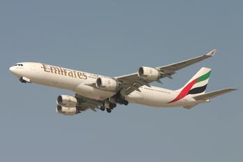 A6-ERA - Emirates Airlines Airbus A340-500