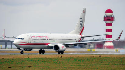 0110 - Poland - Air Force Boeing 737-800