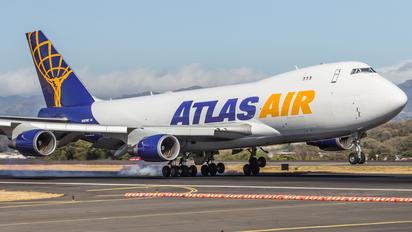 N487MC - Atlas Air Boeing 747-400BCF, SF, BDSF