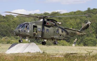 ZJ126 - Royal Navy Agusta Westland AW101 411 Merlin HC.3