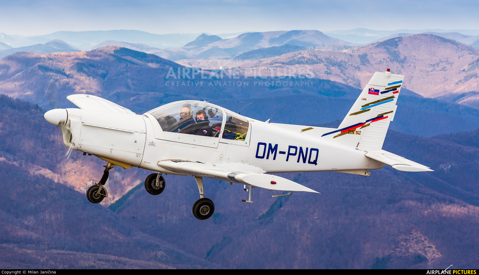 Private OM-PNQ aircraft at Prievidza