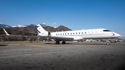 HB-JLC - Nomad Aviation Bombardier BD-700 Global 6000