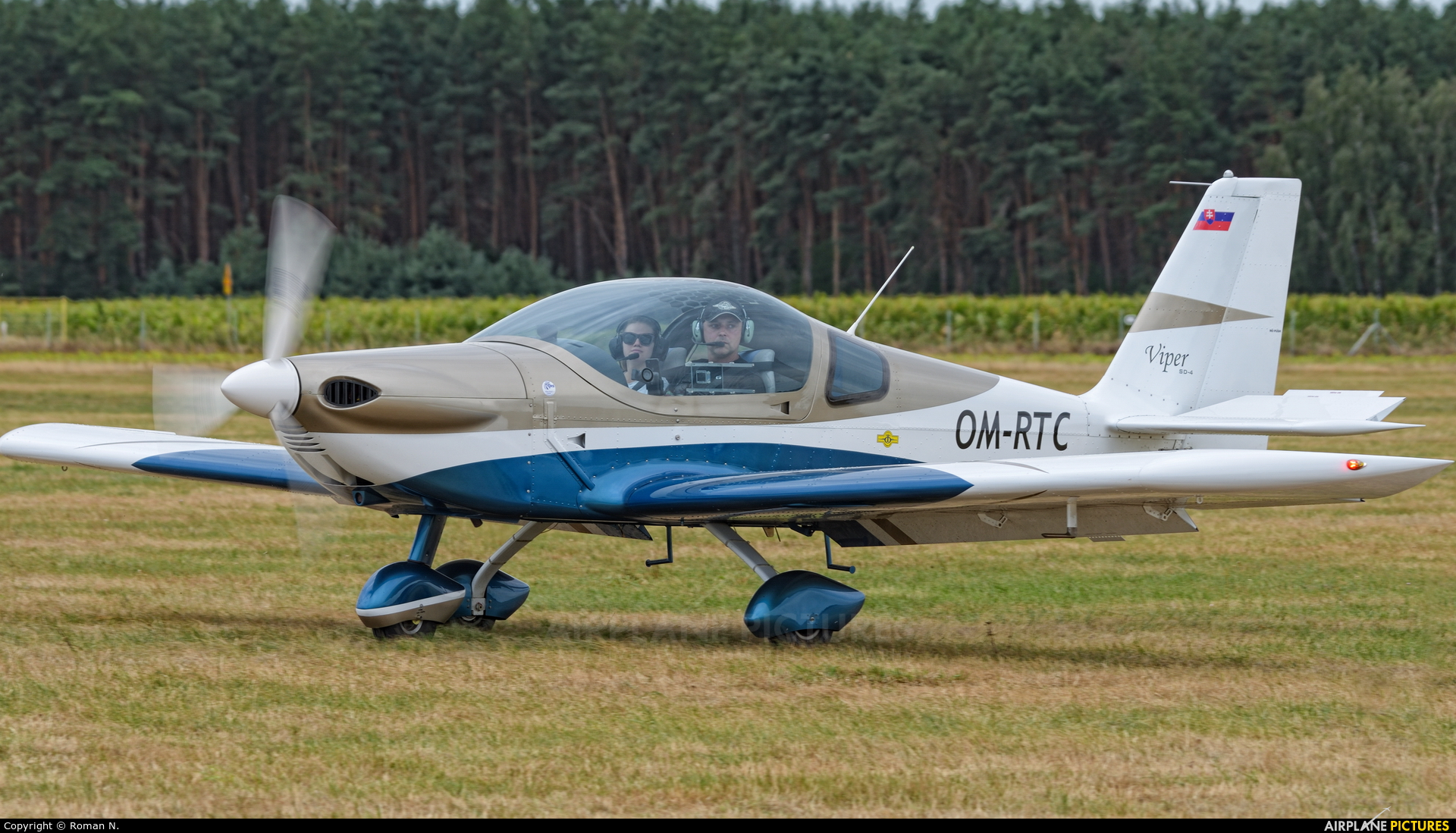 Private OM-RTC aircraft at Leszno - Strzyżewice