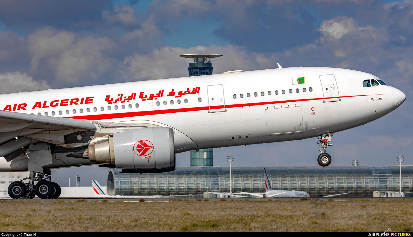Air Algerie 7T-VJW aircraft at Paris - Charles de Gaulle