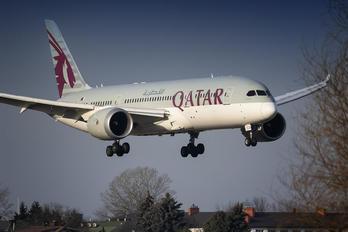 A7-BCX - Qatar Airways Boeing 787-8 Dreamliner