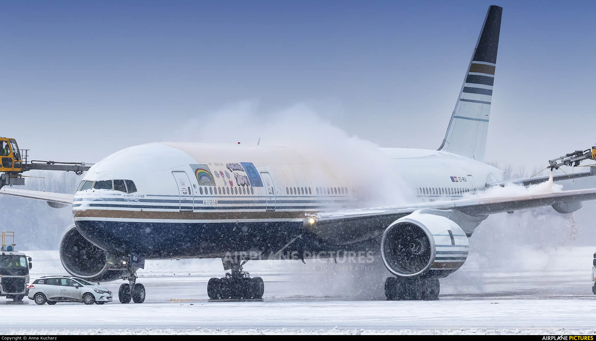 Privilege Style EC-MUA aircraft at Warsaw - Frederic Chopin