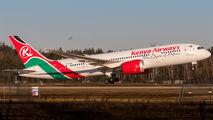 Rare Visit of the Kenya Airways B787 at FRA title=