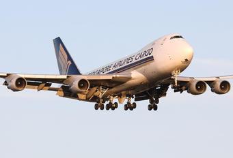 9V-SFP - Singapore Airlines Cargo Boeing 747-400F, ERF