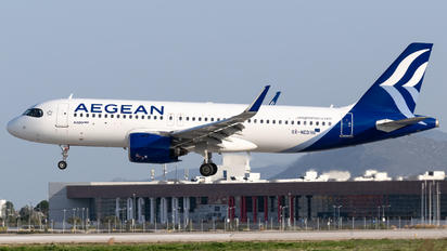 SX-NED - Aegean Airlines Airbus A320 NEO