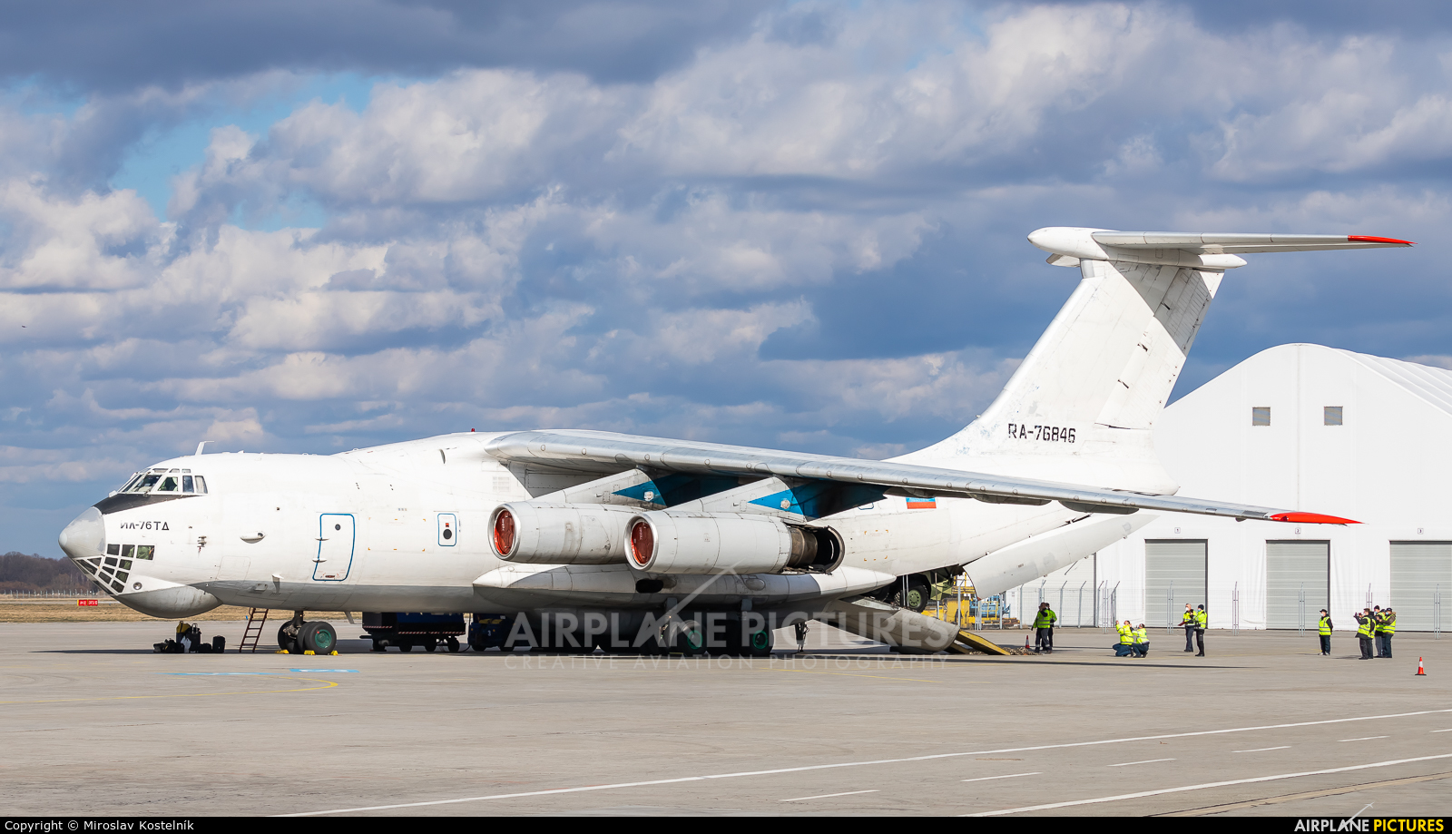 Aviacon Zitotrans RA-76846 aircraft at Ostrava Mošnov