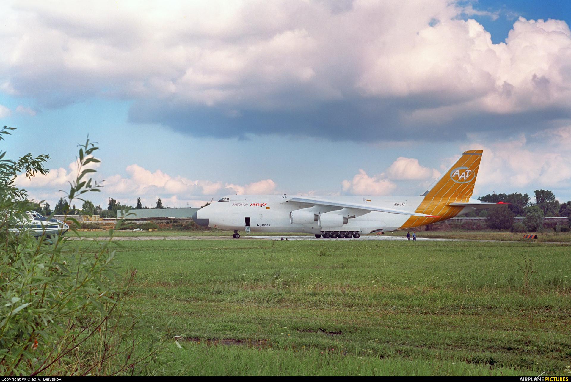 Antonov Airtrack UR-UAP aircraft at Kyiv - Svyatoshino