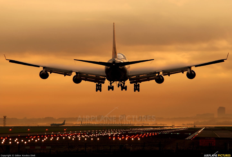 Cathay Pacific Cargo B-HKS aircraft at Amsterdam - Schiphol