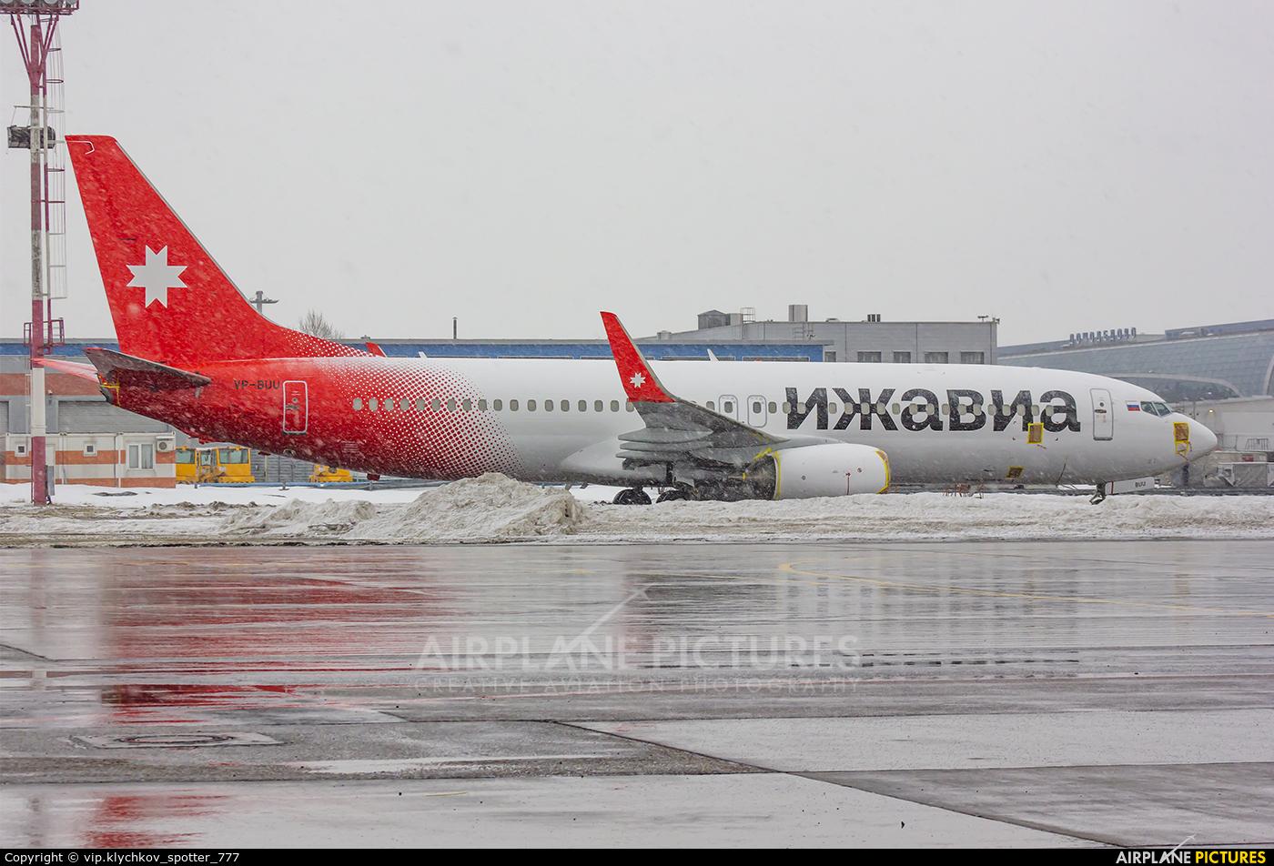 Izhavia VP-BUU aircraft at Moscow - Domodedovo