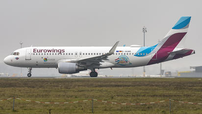 D-AEWK - Eurowings Airbus A320