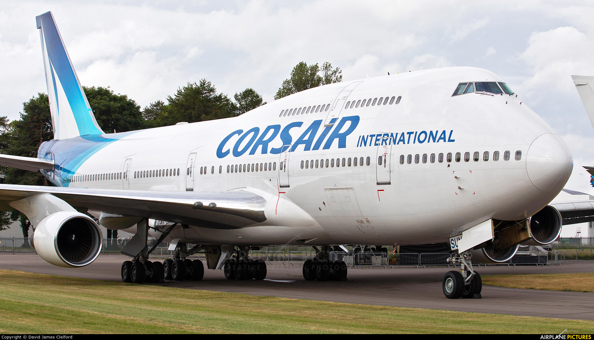 Corsair / Corsair Intl F-HSUN aircraft at Kemble