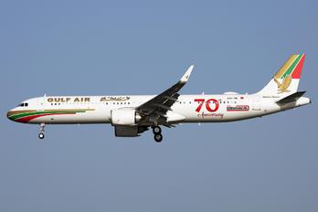 A9C-NB - Gulf Air Airbus A321 NEO