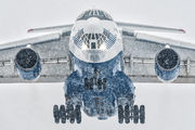 Silk Way Airlines Il-76 in Pardubice title=