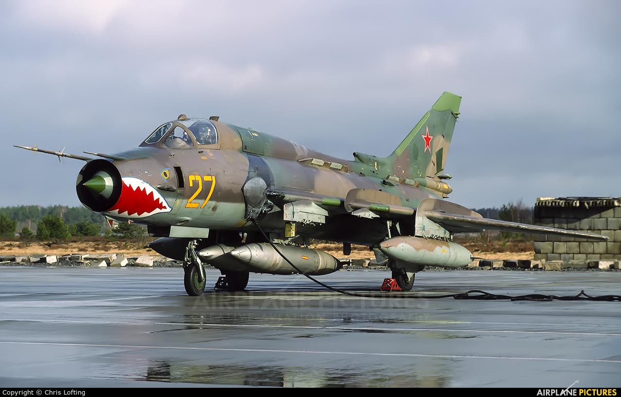 Russia - Air Force 27 aircraft at Gross Dolln-Templin AB