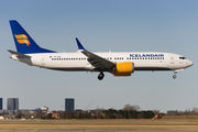 The first revenue flight into Copenhagen for Icelandair after the grounding of the MAX-series title=