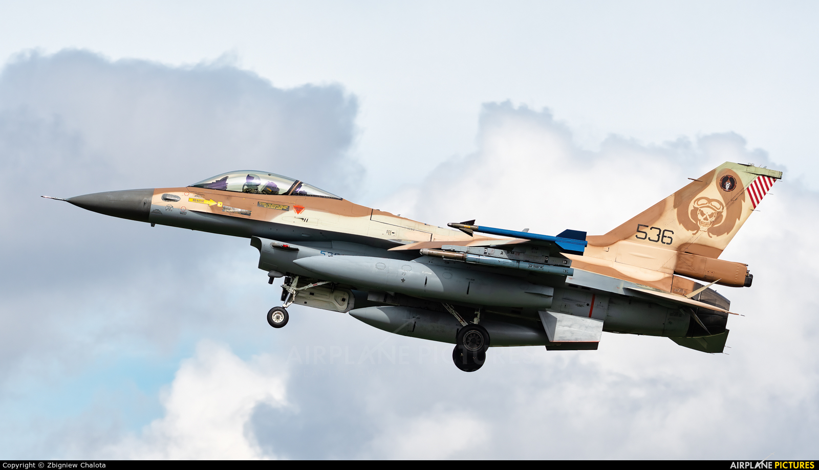 Israel - Defence Force 536 aircraft at Nörvenich