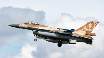 536 - Israel - Defence Force General Dynamics F-16C Barak