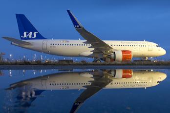 EI-SID - SAS - Scandinavian Airlines Airbus A320 NEO