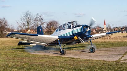 OK-CJM - Agroair Zlín Aircraft Z-37A Čmelák