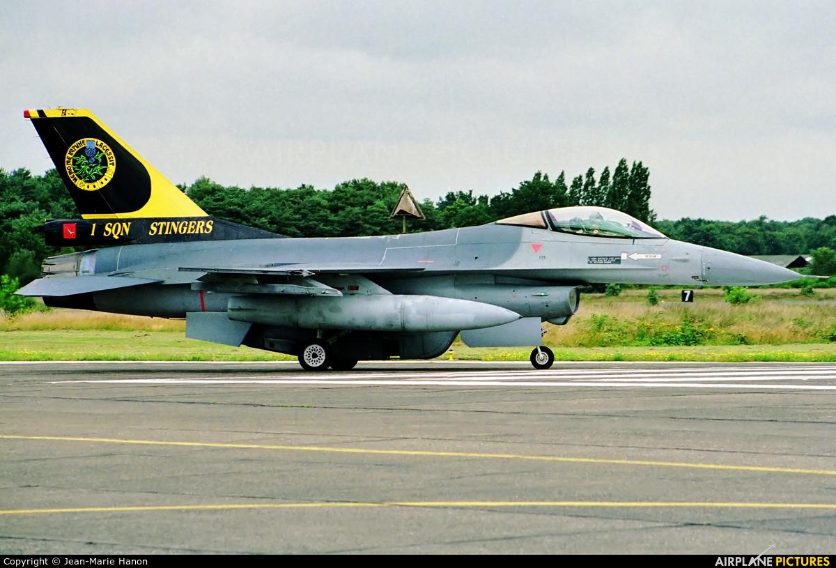 Belgium - Air Force FA-47 aircraft at Kleine Brogel