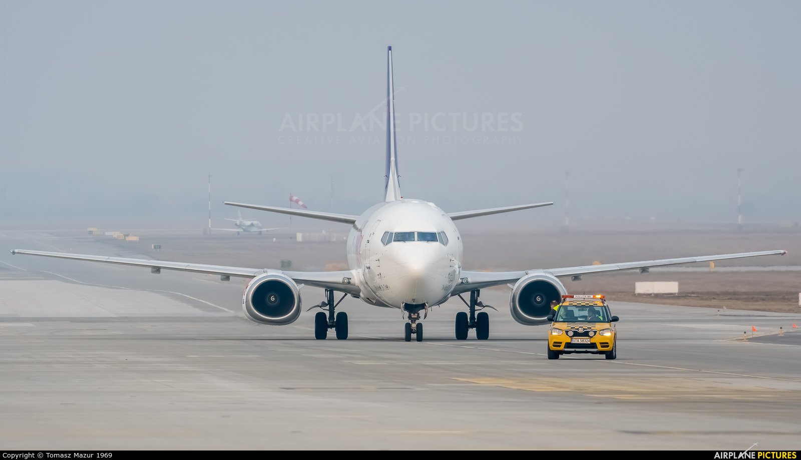 FedEx Feeder OE-IAG aircraft at Katowice - Pyrzowice