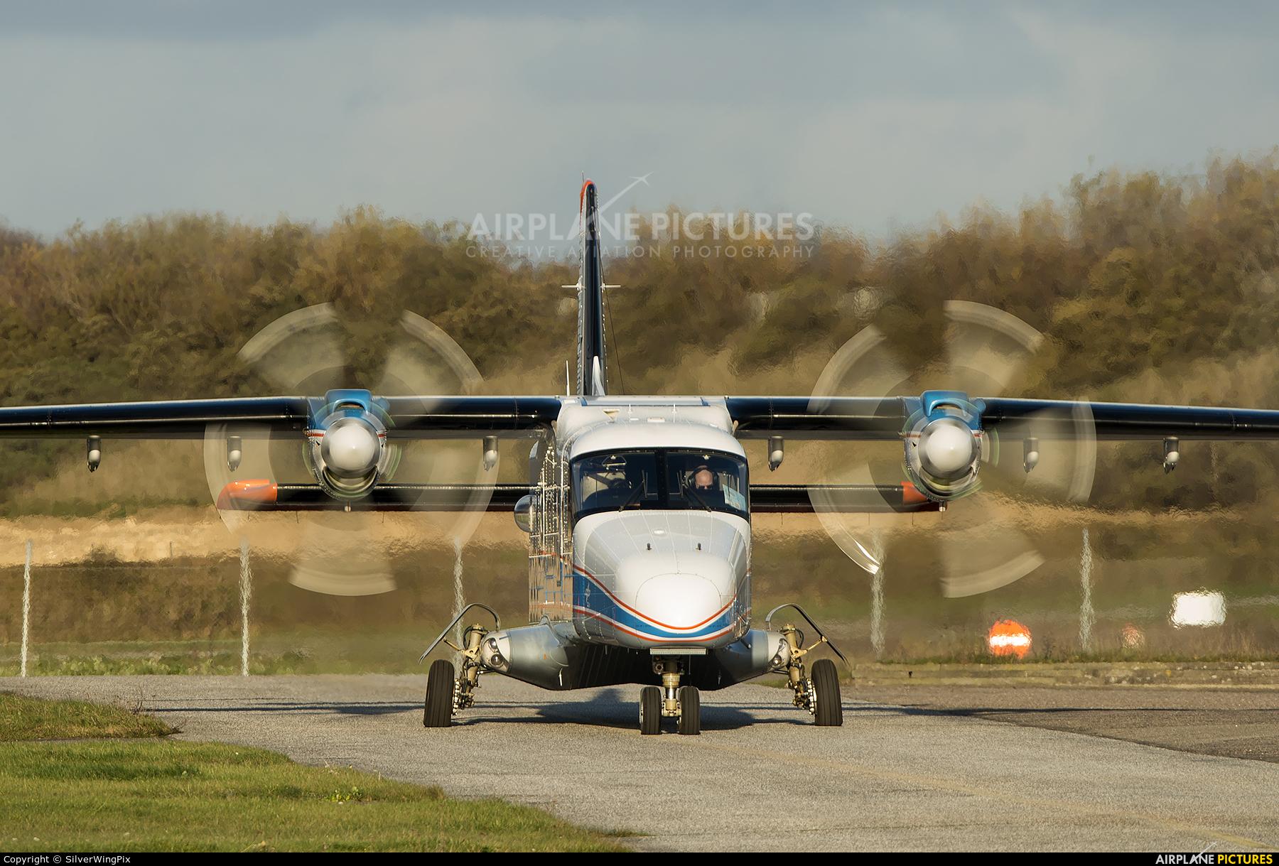 DLR Flugbetriebe D-CODE aircraft at Copenhagen Roskilde