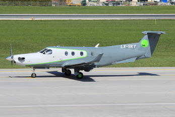 LX-SKY - Private Pilatus PC-12