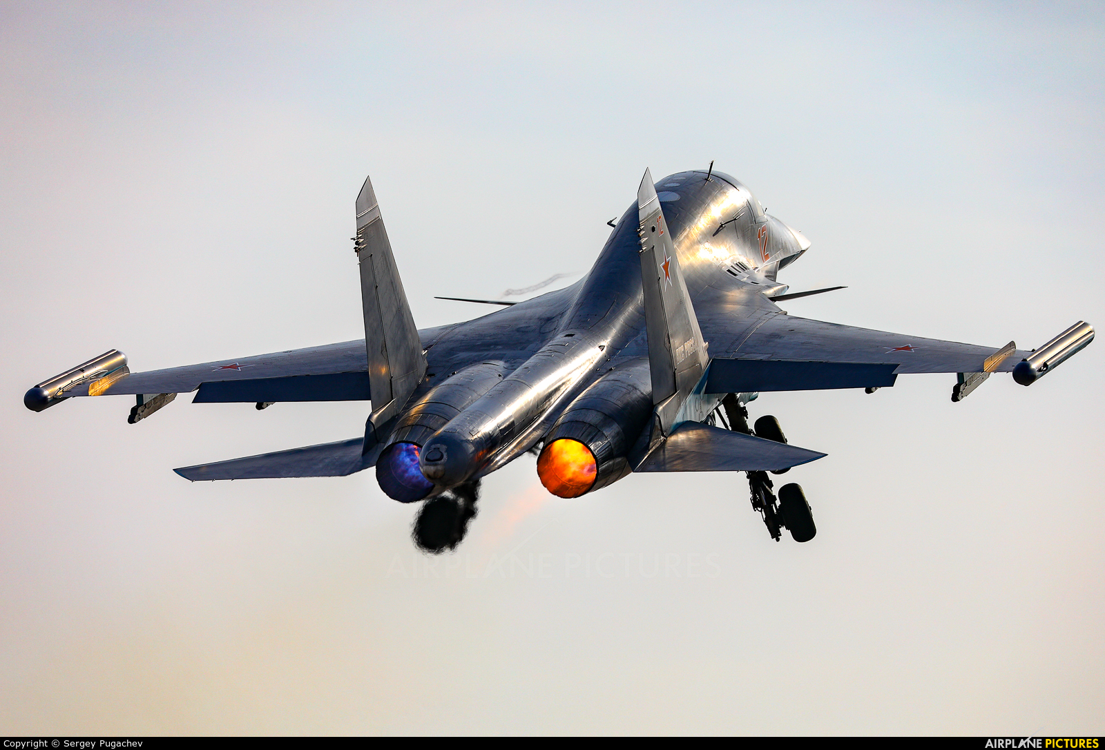 Russia - Air Force 12 aircraft at Undisclosed Location