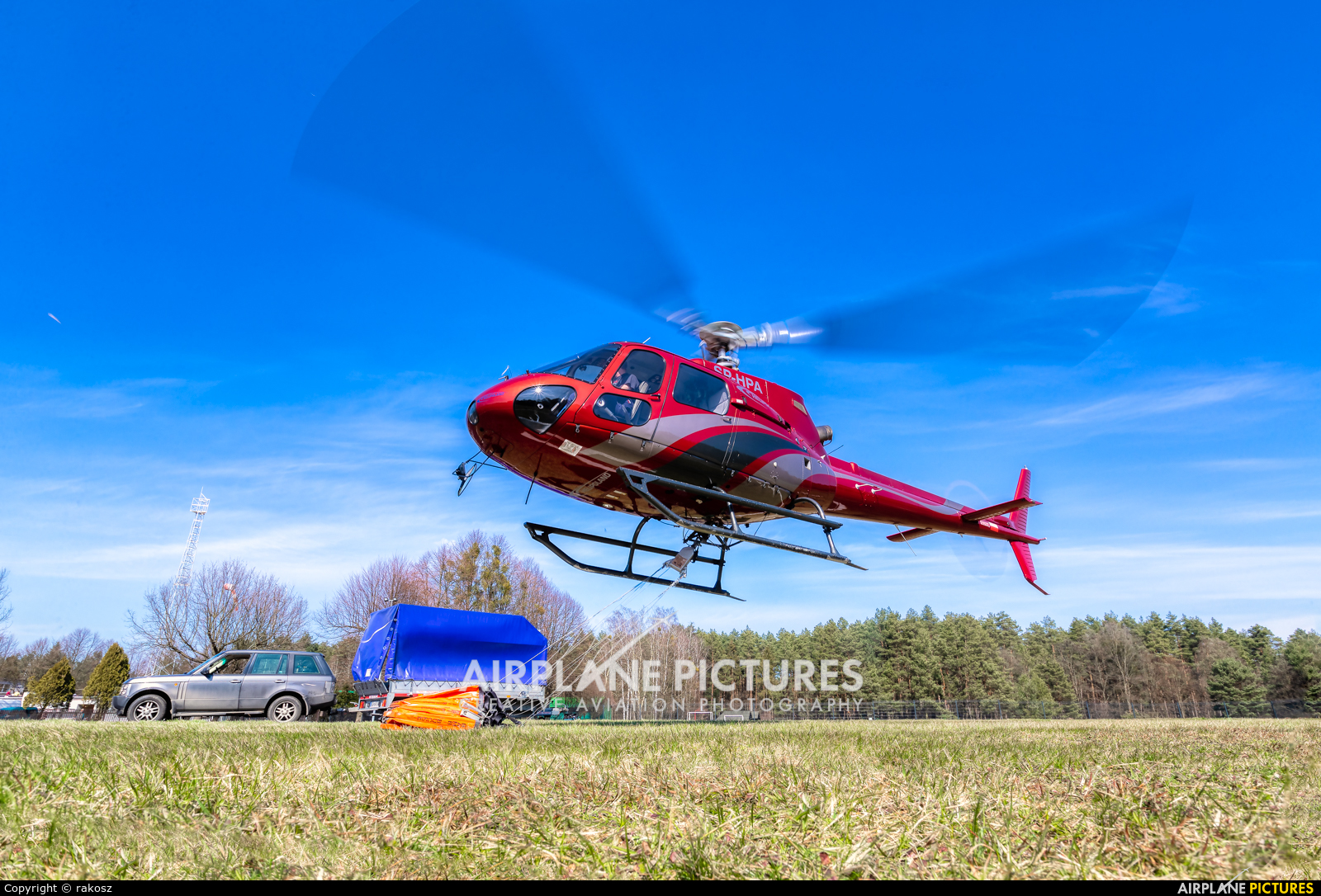 Helipoland SP-HPA aircraft at Off Airport - Poland