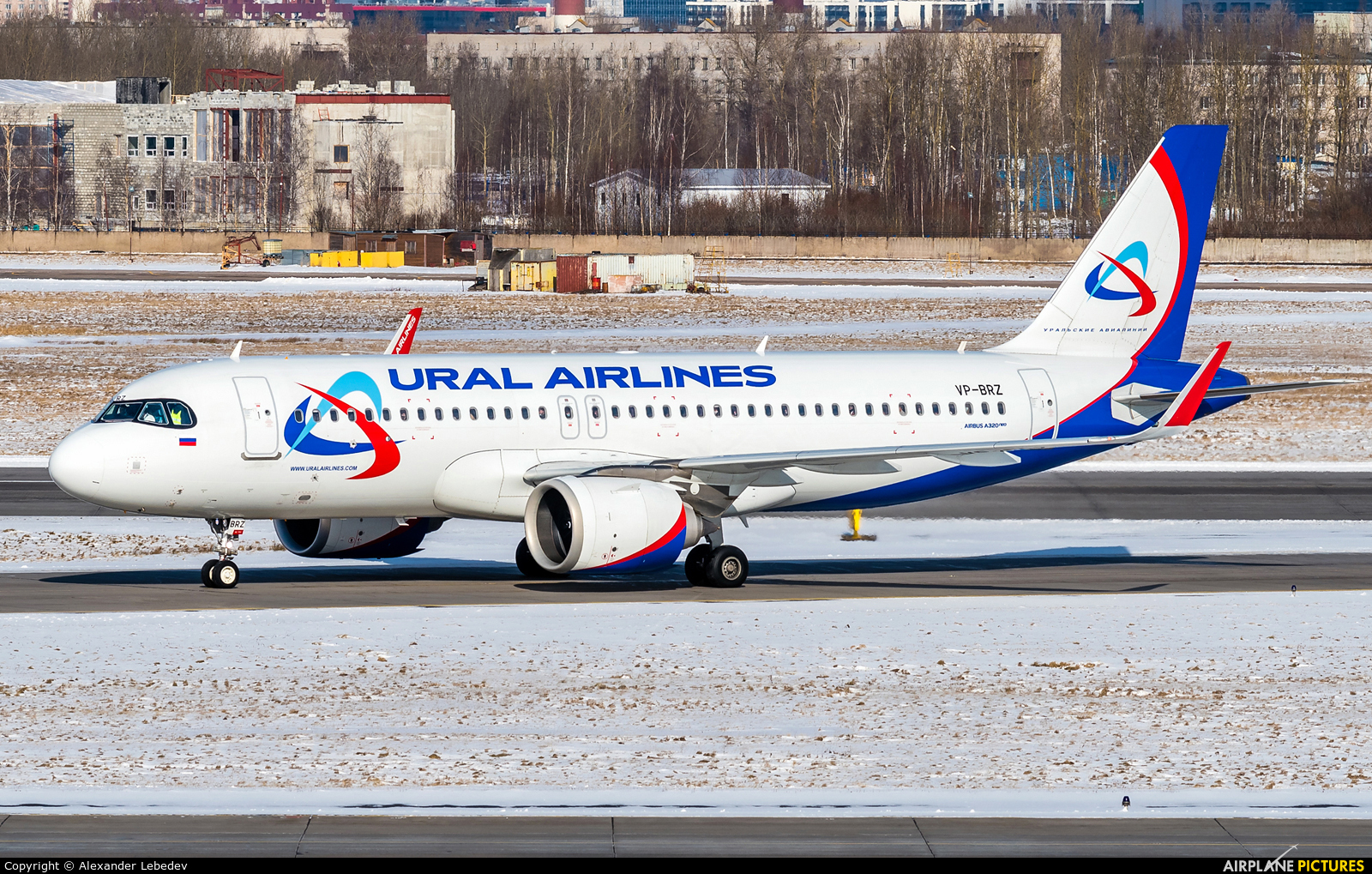 Ural Airlines VP-BRZ aircraft at St. Petersburg - Pulkovo