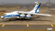 Volga Dnepr Il-76 at Mumbai  title=