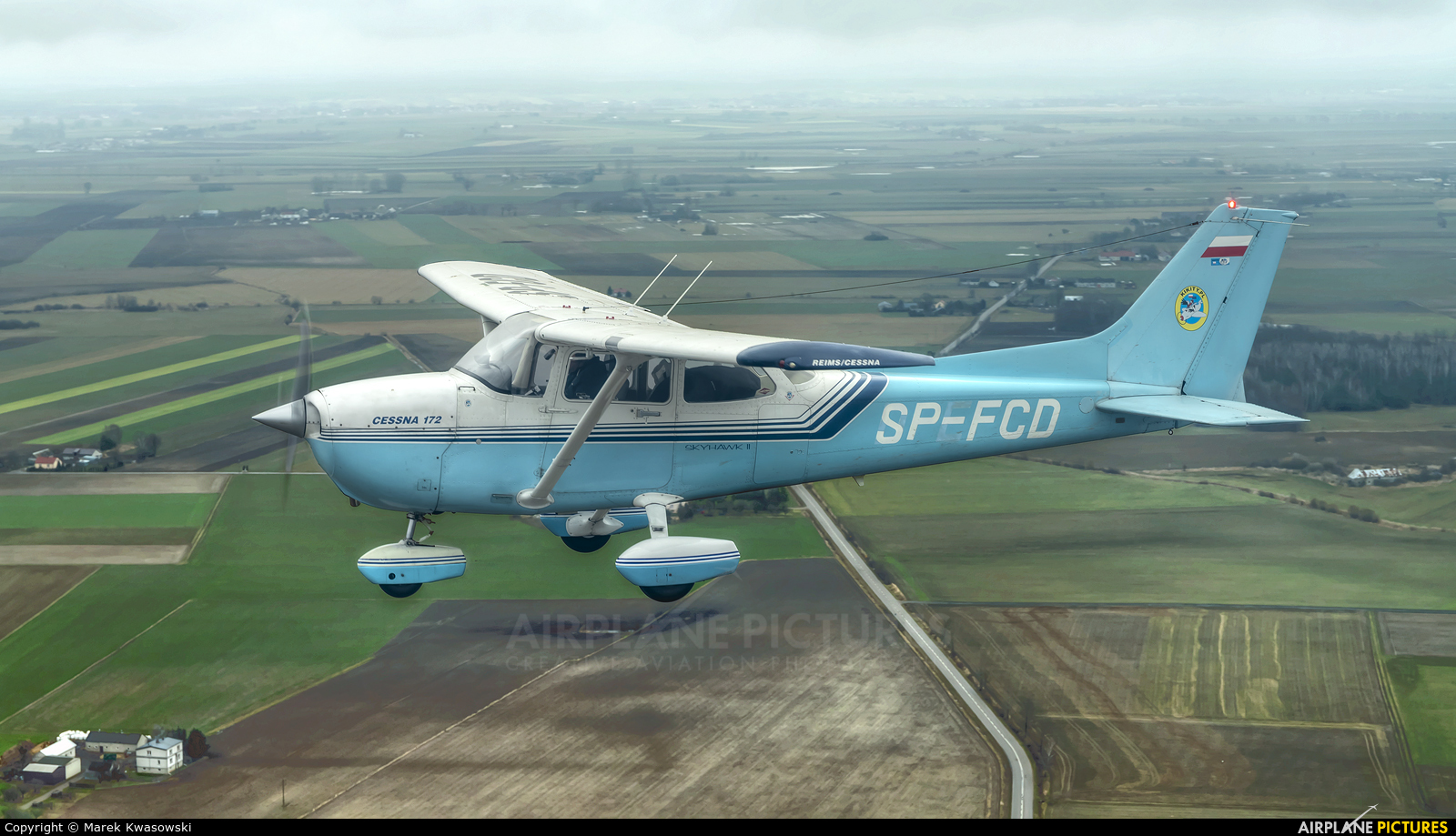 Private SP-FCD aircraft at In Flight - Poland