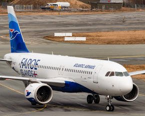 OY-RCL - Atlantic Airways Airbus A320 NEO