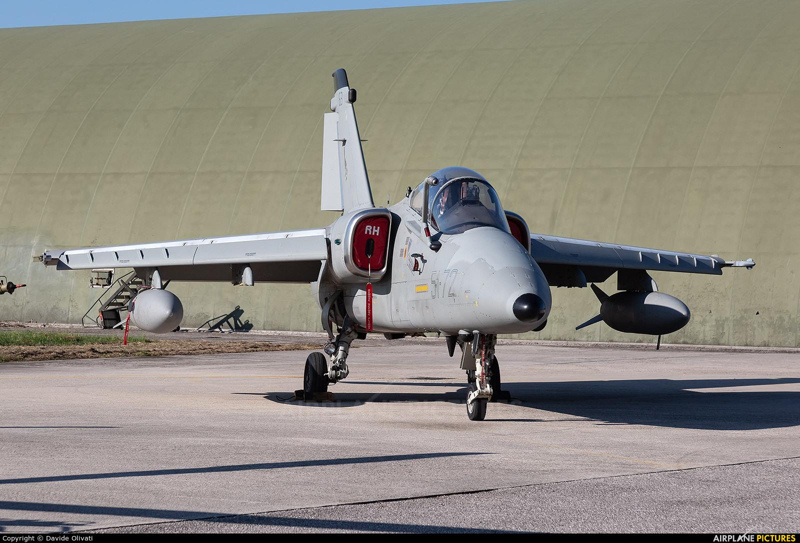 Italy - Air Force MM7163 aircraft at Treviso - Istrana